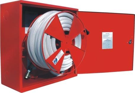 Ostatní - Hydrant komplet D-19 30m plech bílé lakování RAL 9003 (SVV102BILA)