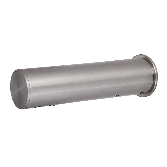 Sanela SLU 43B Automatická nerezová nástěnná baterie na jednu vodu s elektronikou ALS, 6V (SL 03435)