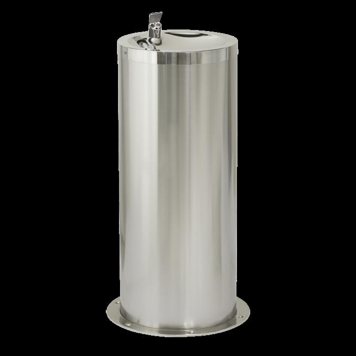 Sanela SLUN 23EB Nerezová pitná fontánka na podlahu s automaticky ovládaným výtokem, 6V (SL 93232)