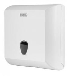 Ostatní - AND GO Zásobník na skládané ručníky A2 bílá 40004000 (40004000)