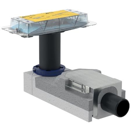 Geberit CleanLine CleanLine souprava-sifon v.90-200mm, pro sprchový žlábek, pro hrubou montáž 154.150.00.1 (154.150.00.1)