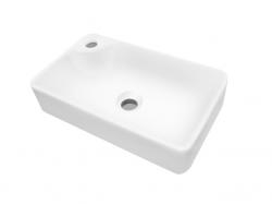 Dreja - Q 44 keramické umývadlo - BIELE (05514)