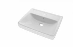 Dreja - Q 60 keramické umývadlo - BIELE (05538)