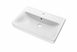 Dreja - Q 70 keramické umývadlo - BIELE (05545)