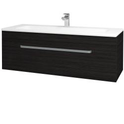 Dřevojas - Kúpeľňová skriňa ASTON SZZ 120 - D14 Basalt / Úchytka T01 / D14 Basalt (146832A)