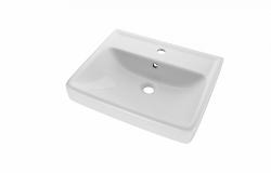 Dreja - Q 55 keramické umývadlo - BIELE (05521)
