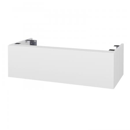 Dreja - Doplnková skrinka pod dosku DSD SZZ1 100, bez výrezu (výška 30 cm) - D01 Beton / D01 Beton (230098)