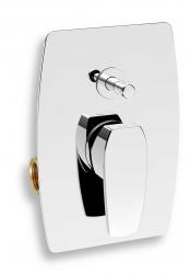 NOVASERVIS - Vaňová sprchová batéria s prepínačom Studio chróm (31050R,0)