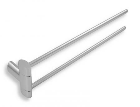 NOVASERVIS - Dvojramenný držiak uterákov Metalia 10 chróm (0029,0)