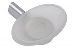 NOVASERVIS - Mydlenička sklo Metalia 10 chróm (0036,0)