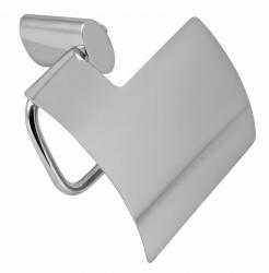NOVASERVIS - Záves toaletného papiera s krytom Metalia 10 chróm (0038,0), fotografie 2/1