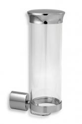 NOVASERVIS - Zásobník na kozmetické tampóny sklo Metalia 10 chróm (0072,0), fotografie 2/1