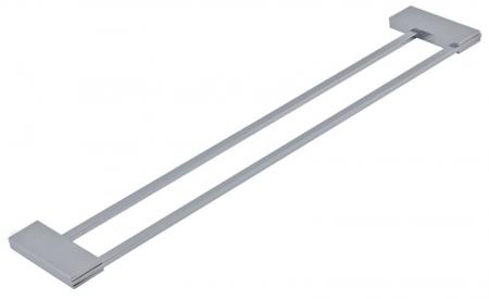 NOVASERVIS - Dvojitý držiak uterákov 600 mm Metalia 9 chróm (0925,0)