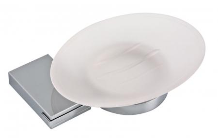 NOVASERVIS - Mydlenička sklo Metalia 9 chróm (0936,0)