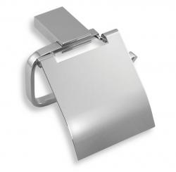 NOVASERVIS - Záves toaletného papiera s krytom Metalia 9 chróm (0938,0)