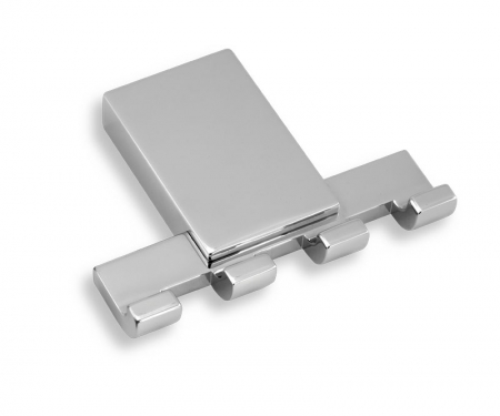 NOVASERVIS - Štvorháčik Metalia 9 chróm (0943,0)