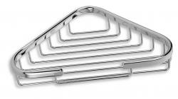 NOVASERVIS - Rohová polička malá Metalia Drôtený program chróm (6065,0), fotografie 2/2