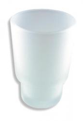 NOVASERVIS - Náhradný pohár Metalia 1 sklo pieskované (6106,XS), fotografie 2/1