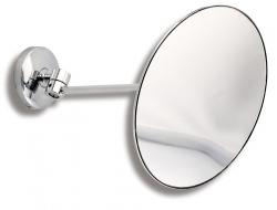 NOVASERVIS - Kozmetické zrkadlo zväčšovacie Metalia 1 chróm (6168,0), fotografie 2/2