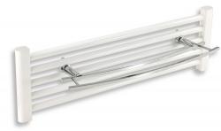 NOVASERVIS - Dvojitý držiak na vykurovací rebrík 600 mm Metalia 2 chróm (6225/1,0), fotografie 2/2