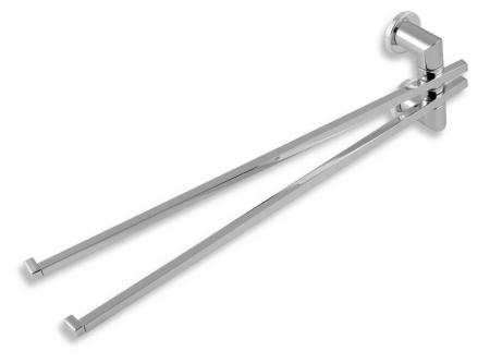 NOVASERVIS - Dvojramenný držiak uterákov Metalia 2 chróm (6229,0)