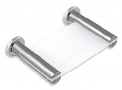 NOVASERVIS - Mydlenička sklo Metalia 2 chróm (6236,0)