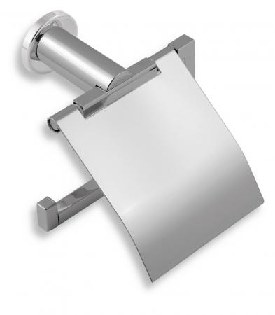 NOVASERVIS - Záves toaletného papiera s krytom Metalia 2 chróm (6238,0)