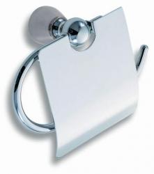 NOVASERVIS - Záves toaletného papiera s krytom Metalia 3 chróm (6338,0)