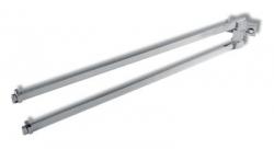 NOVASERVIS - Dvojramenný držiak uterákov Metalia 4 chróm (6429,0)