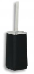 NOVASERVIS - WC kefa na postavenie Metalia 4 čierna-chróm (6433/1,5)