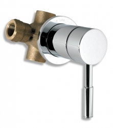 NOVASERVIS - Podomietkový prepínací ventil Tower Tech chróm (12151,0)
