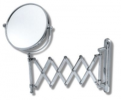 NOVASERVIS - Kozmetické zrkadlo zväčšovacie vyťahovacie chróm (6968,0)