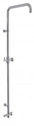 NOVASERVIS - Sprchový SET k batérii spodný vývod bez príslušenstva chróm (SET060/1/1,0)
