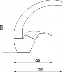 NOVASERVIS - Umývadlová drezová batéria Titania Iris chróm (92016,0), fotografie 4/2