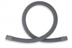NOVASERVIS - Práčková vypúšťacia hadica rovná 200 cm šedá-200cm (PV/200), fotografie 2/1