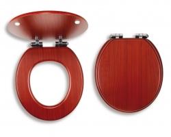 NOVASERVIS - sedátko tvarované drevo (WC/SOFTORECHLY), fotografie 4/2