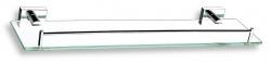 NOVASERVIS - Polička so zábradlím Titania Elis chróm (66453,0)