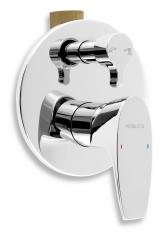 NOVASERVIS - Vaňová a sprchová podomietková batéria s prepínačom (39050R,0)
