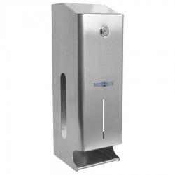 SAPHO - Zásobník na 3 kotúče toaletného papiera, nerez (05102.B)
