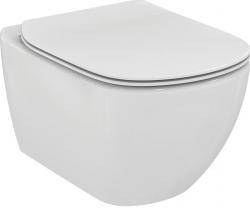 Ideal Standard Tesi set wc mísa závěsná RIMLESS vč.sedátka Soft-Close ultra ploché T352701 v balení  T355101 (T355101)