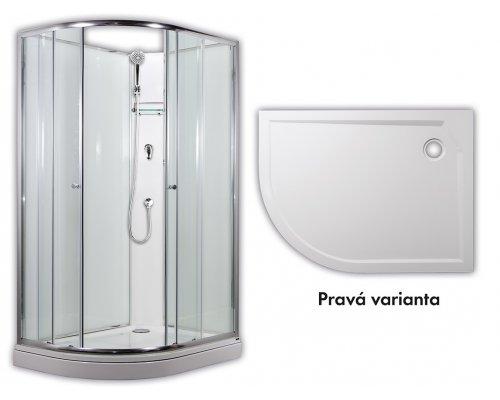 ARTTEC - SIRIUS - sprchový box model 1 chinchila pravá (PAN04552)