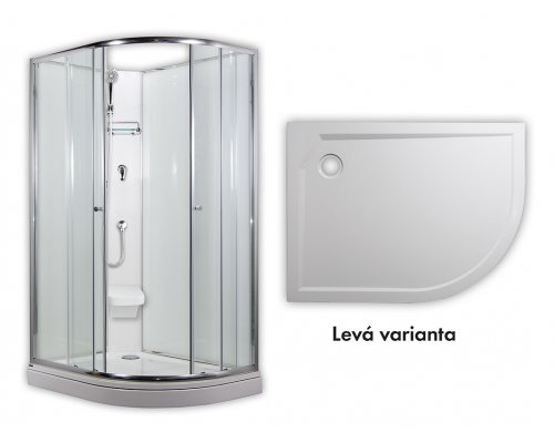 ARTTEC - SIRIUS - sprchový box model 2 chinchila levá (PAN04553)