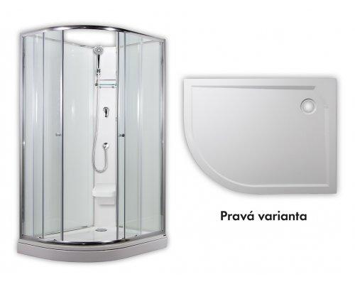 ARTTEC - SIRIUS - sprchový box model 2 chinchila pravá (PAN04554)