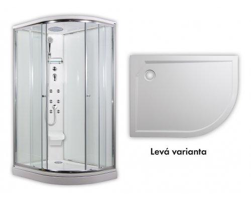 ARTTEC - SIRIUS - masážní sprchový box model 5 chinchila levá (PAN04557)