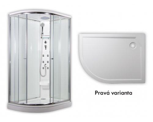 ARTTEC - SIRIUS - masážní sprchový box model 5 chinchila pravá (PAN04558)