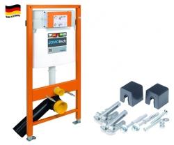 Modul JOMOTech pro závěsné WC, ovládání zepředu + montážní sada (174-91100700-00)