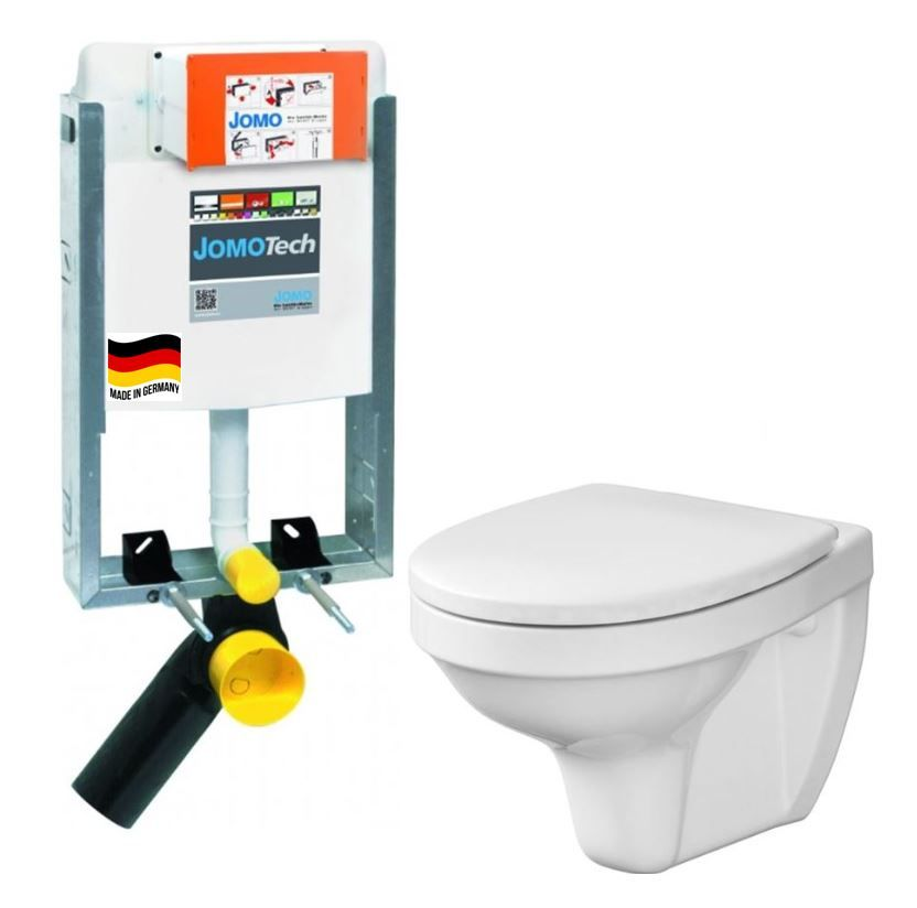 JOMO modul pre zamurovanie bez sedátka + WC CERSANIT DELFI + SEDADLO 164-14600479-00 DE1