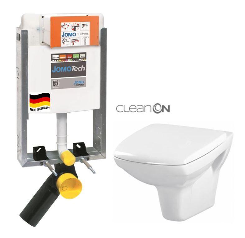 JOMO modul pre zamurovanie bez sedátka + WC CERSANIT CLEANON CARINA + SEDADLO 164-14600479-00 CA1