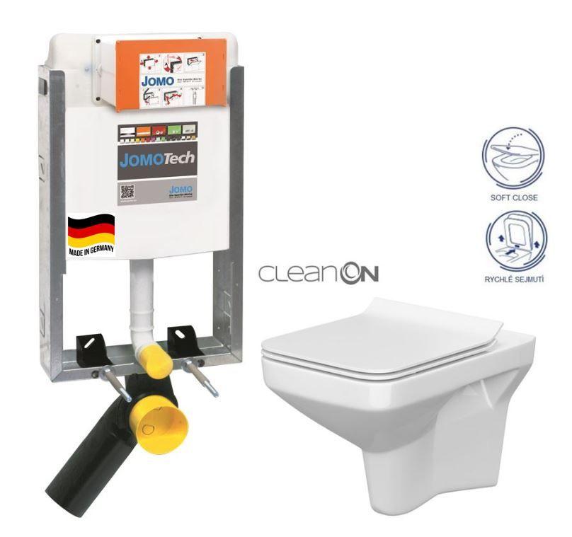 JOMO modul pre zamurovanie bez sedátka + WC CERSANIT CLEANON COMO + SEDADLO 164-14600479-00 CO1