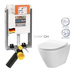 JOMOTech modul pre zamurovanie LIGHT bez dosky + WC CERSANIT CLEANON CITY (164-14600479-00 CI1)